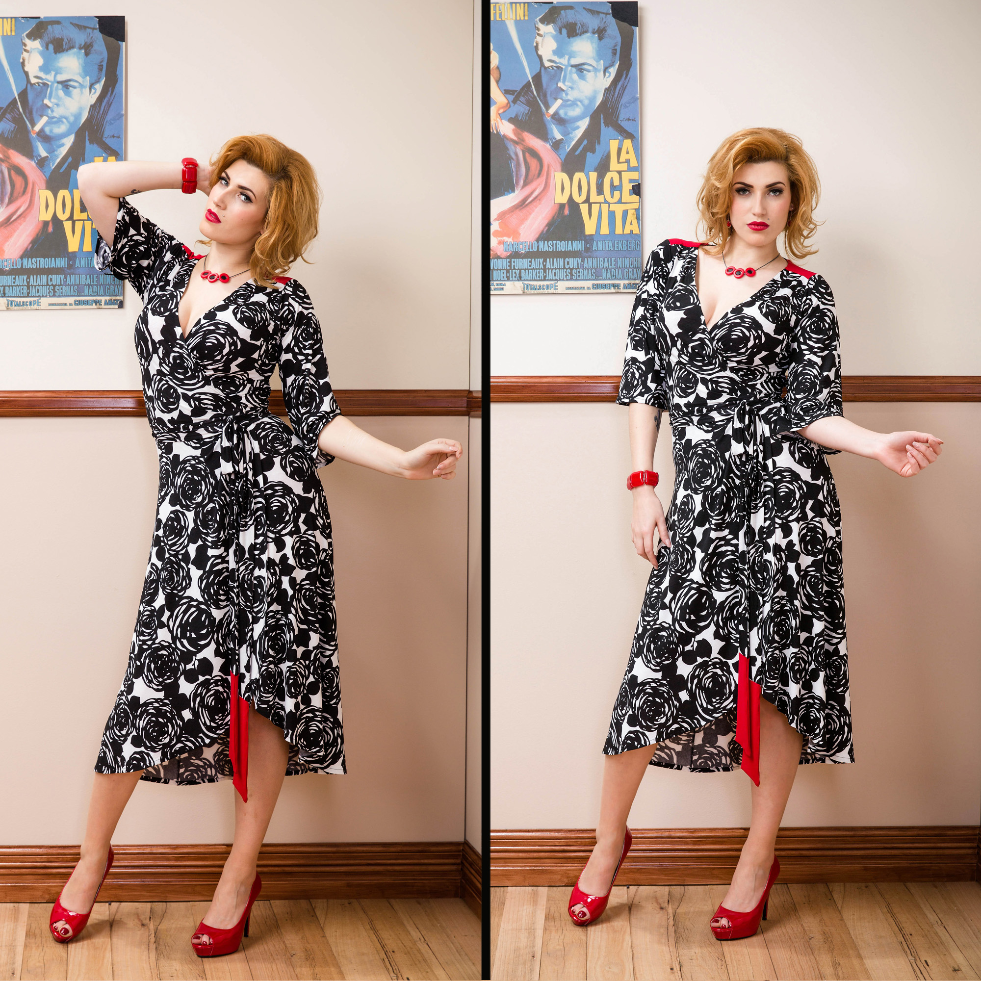 Sprinkle AW2014 wrap dress