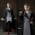 LA DOLCE VITA COAT.BLK GREY