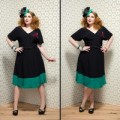 Mia-Day-Dress-black-emerald.200