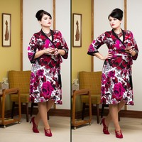 Moneypenny WD. claret floral200