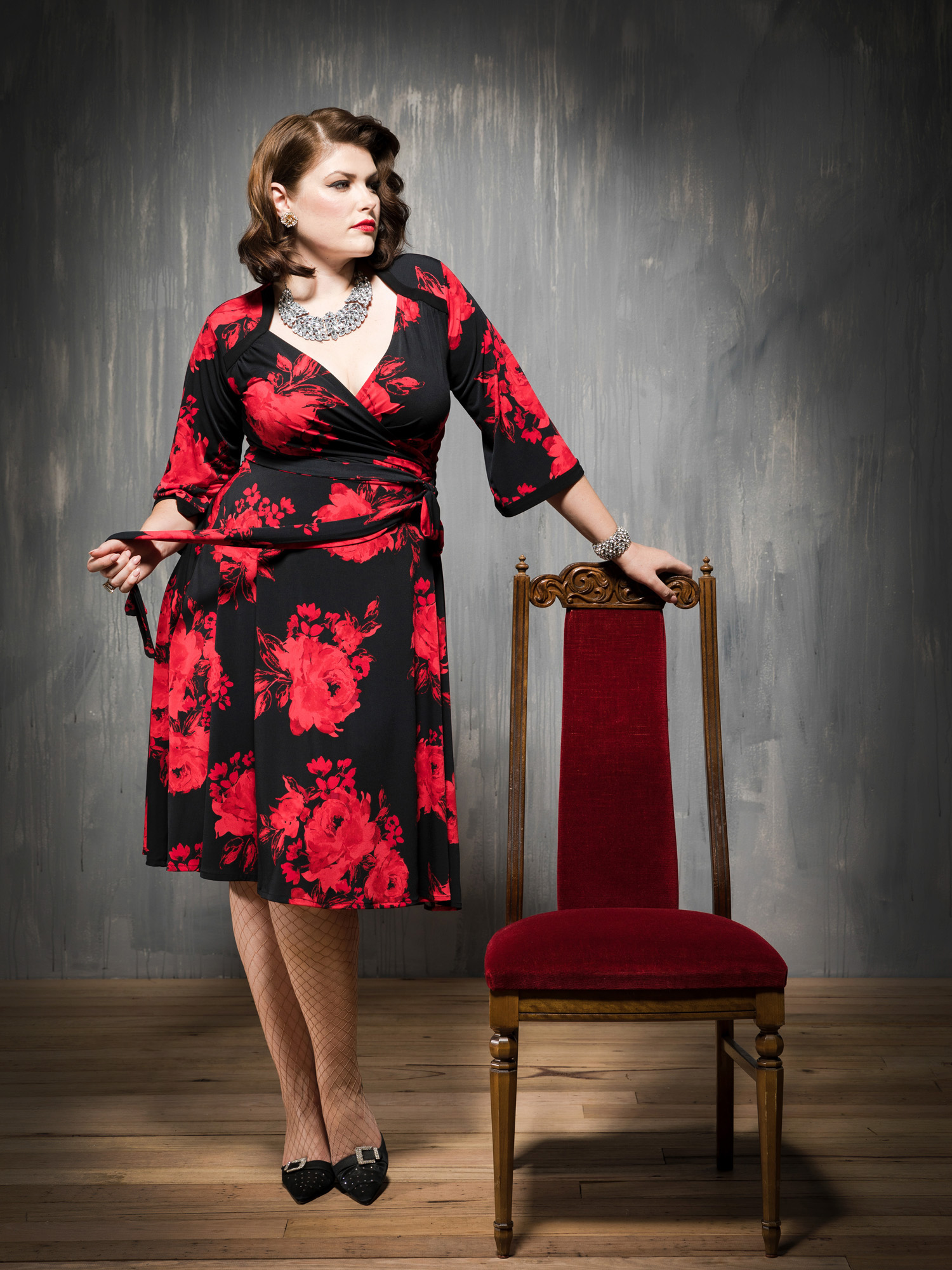 Kiss Me Deadly frock.. eternal rose