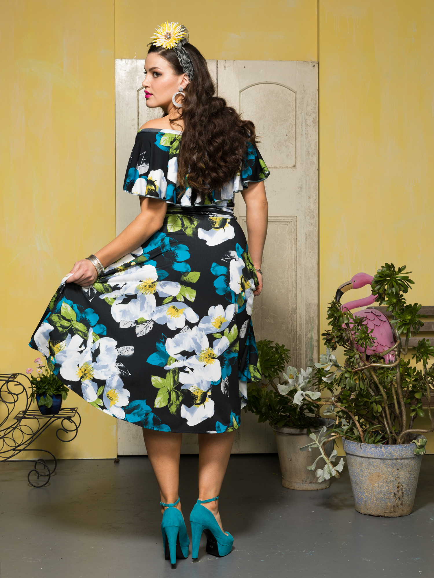 54 RUMBA RUFFLE DRESS.grandiflora bk.1500.2000