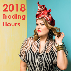 2018 trading hours