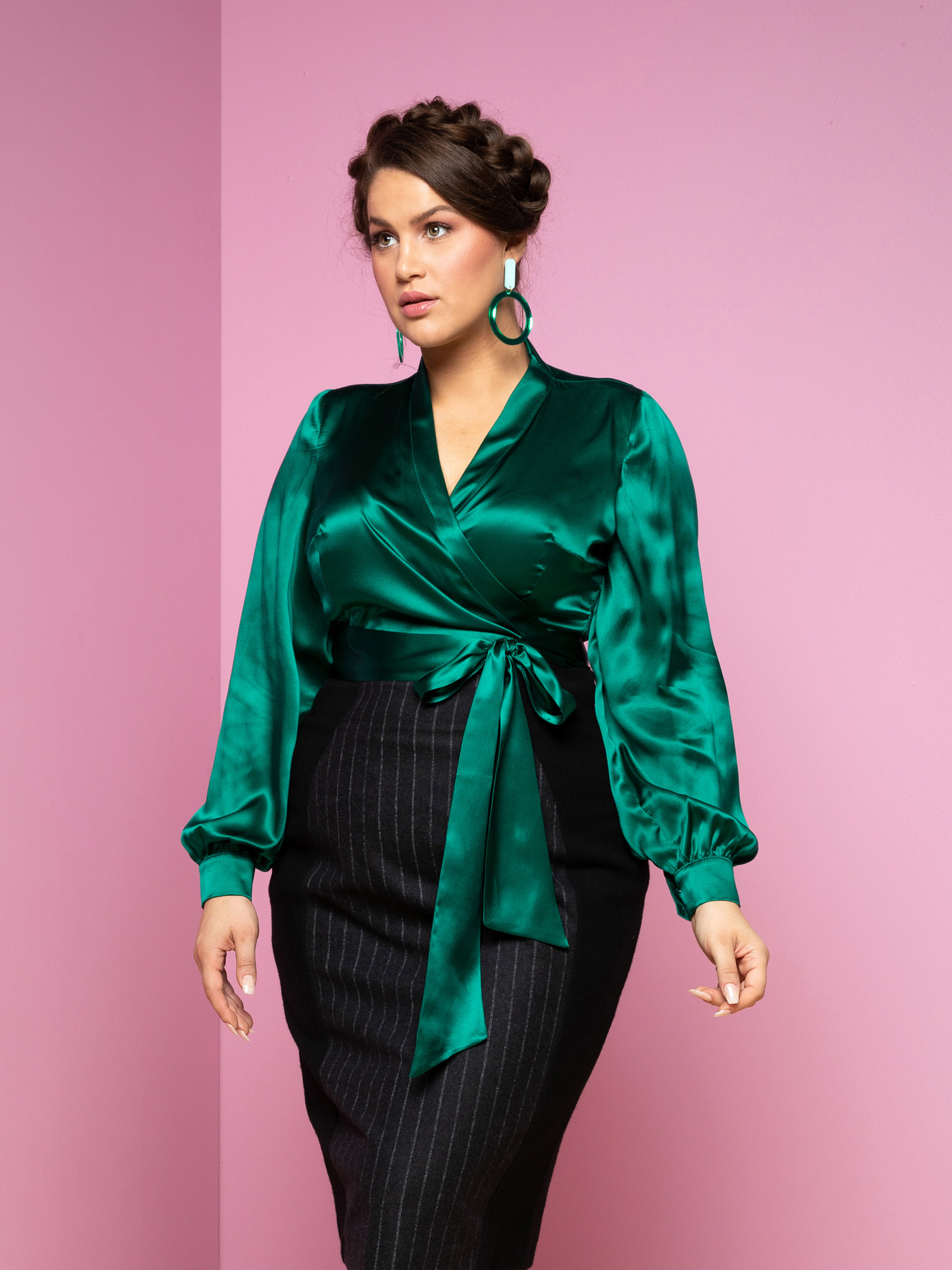 Upper-East-Side-Blouse.-emerald-2-website